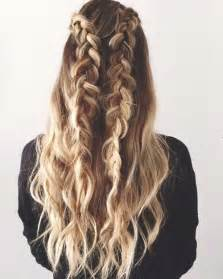 the best and wavy hair braids 40 best braided curly hair long hairstyles 2017 long