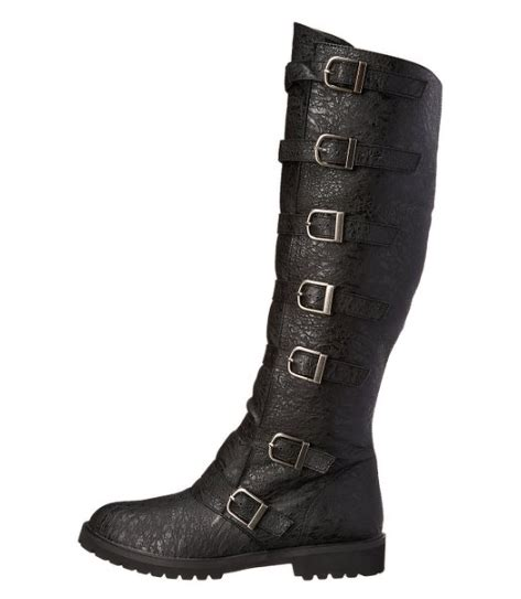 multi buckle knee high boots