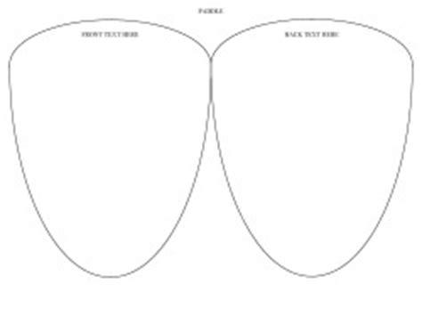 Templates Aylee Bits Wedding Design Free Printable Paddle Fan Template