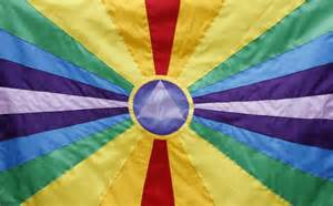 what color represents unity flag for humanity