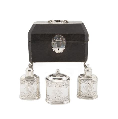 a tea caddy collection books sterling silver tea caddy set silver