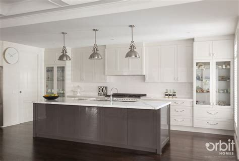 gallery of photos orbital bathrooms and kitchens htons style kitchen with a chic and modern finish