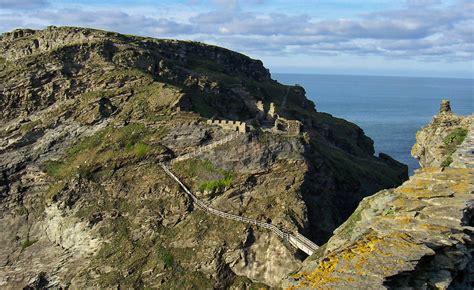 Tinta Gl Tintagel Castle Tintagel Cornwall Guide