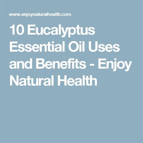 aromatherapy with essential diffusers for everyday health and wellness books 1000 ideas about eucalyptus essential uses on