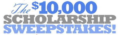 Sweepstakes Scholarships - gradsave 10 000 scholarship sweepstakes