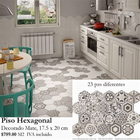 piso vintage pisos porcelanatos hexagonales decorados retros vintages