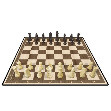 chess set kasparov wood chess set