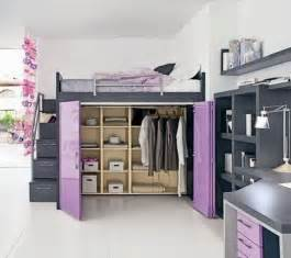 Loft Bed For Teenager Home Design Loft Beds For Teenage Girls With Desk Loft