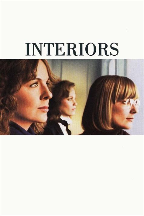 interiors movie interiors 1978 posters the movie database tmdb