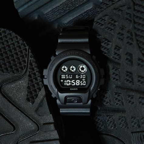 Casio G Shock Black g shock black out basic dw 6900bb 1jf