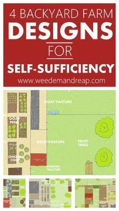 backyard self sufficiency backyard farm designs for self sufficiency granjas