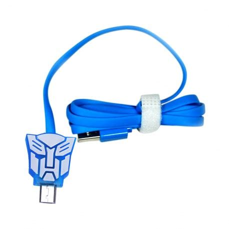 Kabel Data kabel data micro usb led karakter transformer