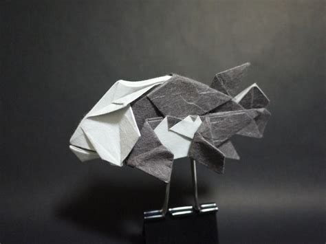 origami latios origami from gold silver ruby sapphire