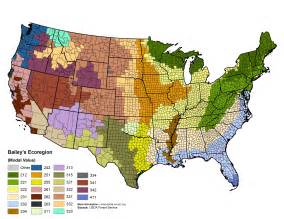 bailey s ecoregions the science analysis of the national