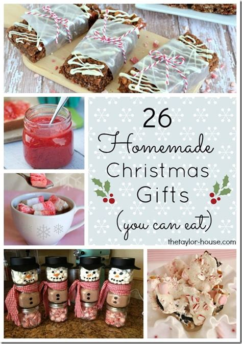 Handmade Diy Gifts - 26 edible gift ideas the house