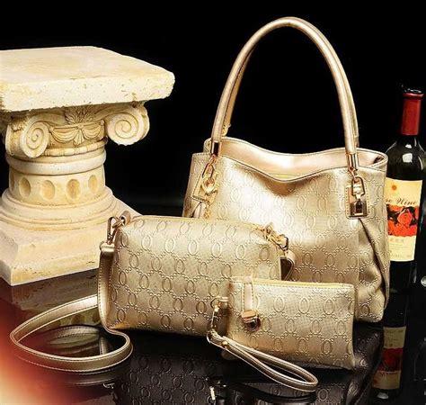 Tas Import K21129 Gold tas import kg20720 gold 3 in 1 tokoina jual produk kesehatan dan kecantikan