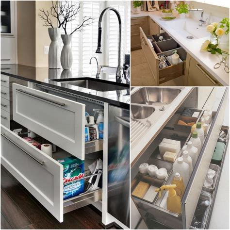 under sink kitchen cabinet the ideal kitchen under sink drawers live simply by annie