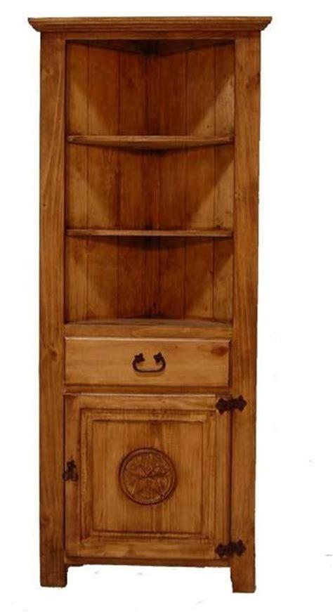 rustic corner bookcase rustic corner bookcase with detail southwestern