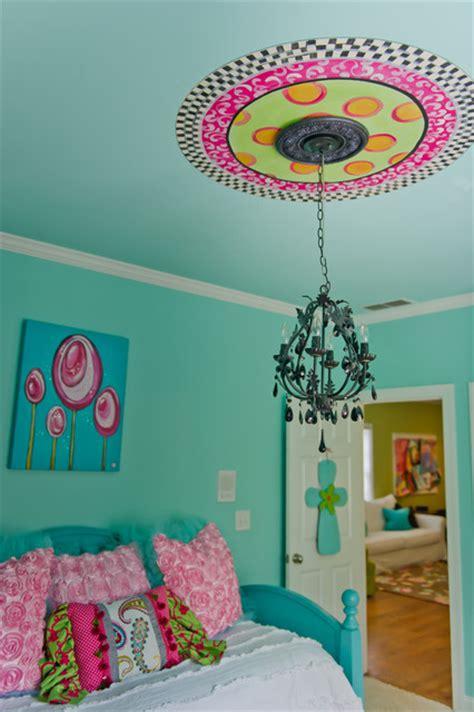 Turquoise Tween Bedroom   Canton, Ga   Eclectic   Kids   Atlanta   by Ashley Taylor Home LLC