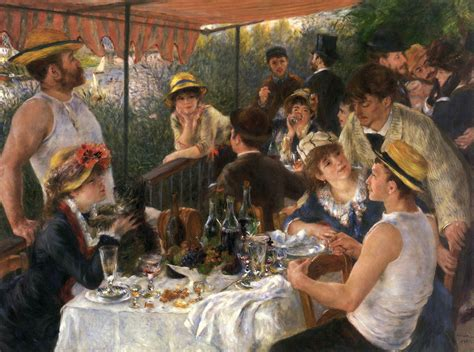 renoir boating party the luncheon of the boating party by renoir pierre auguste
