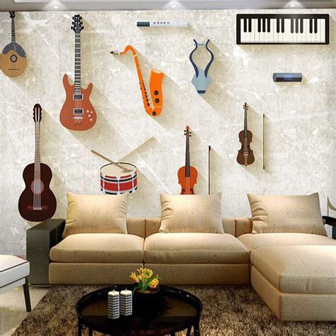 Bedroom All Song Popular Guitar Wall Murals Buy Cheap Guitar Wall Murals