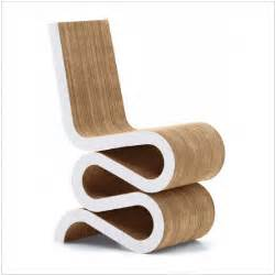 the wiggle chair cardboard furniture from frank gehry
