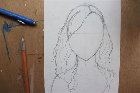 easy way to draw hairstyles easy step by step instructions for drawing curly hair