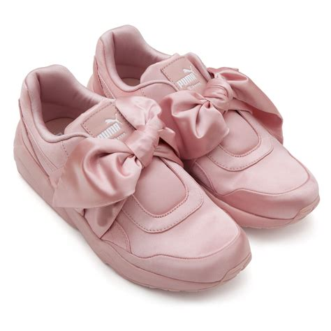 Bow Fenty Rihana fenty by rihanna bow sneaker fenty x shoes