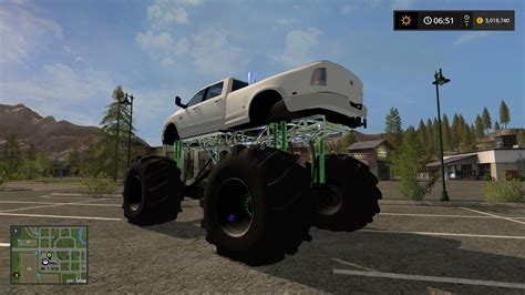 dodge mud truck dodge mud truck lifted v1 0 fs 17 farming simulator 2017