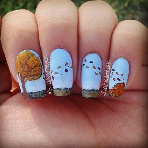 Nail Dazzling Leaf 35 leaf nail ideas nenuno creative