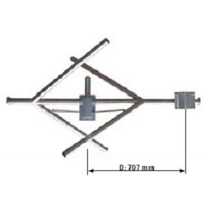 sira fm antenna fmc 01 1 5db circular elliptical dipole n