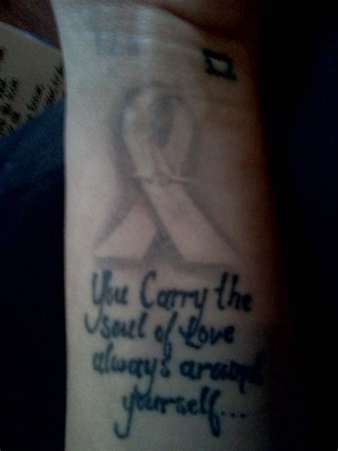 tattoo quotes cancer cancer memorial tattoos quotes quotesgram