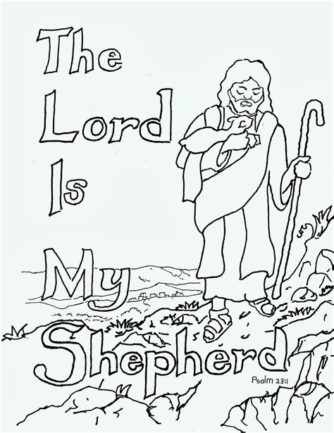 coloring pages for kids by mr adron the lord is my