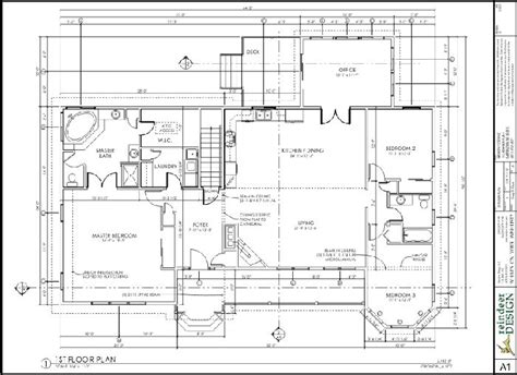 house layout plan drawing vertical title block 제도 pinterest architecture