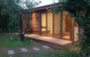 Backyard Office Prefab Order Brochure Contemporary Garden Rooms Garden Room