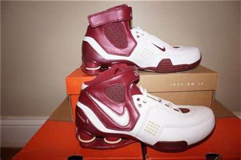 maroon and white nike basketball shoes nike shox elite tb mens basketball shoes white maroon ebay