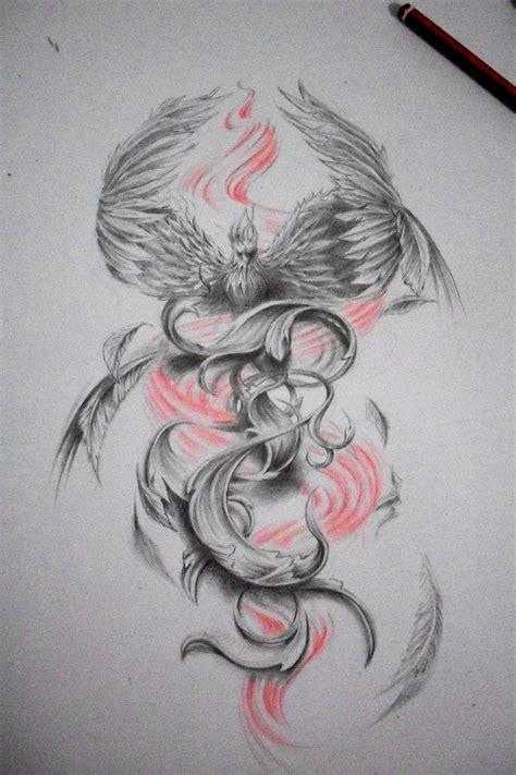 phoenix tattoo heart phoenix draw tattoo design tattoo ideas pinterest