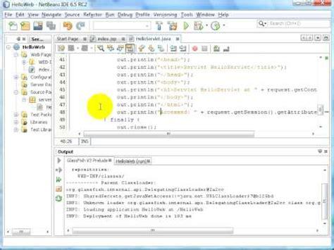 tutorial netbeans jsp tutorial jsp netbeans and glassfish v3 mi primer ladrillo
