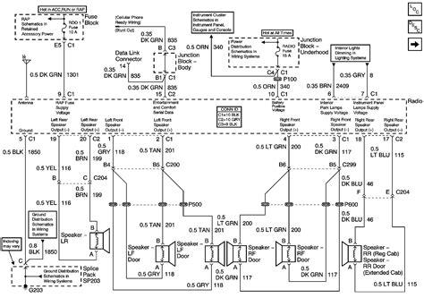 2006 gmc yukon wiring diagram wiring diagram