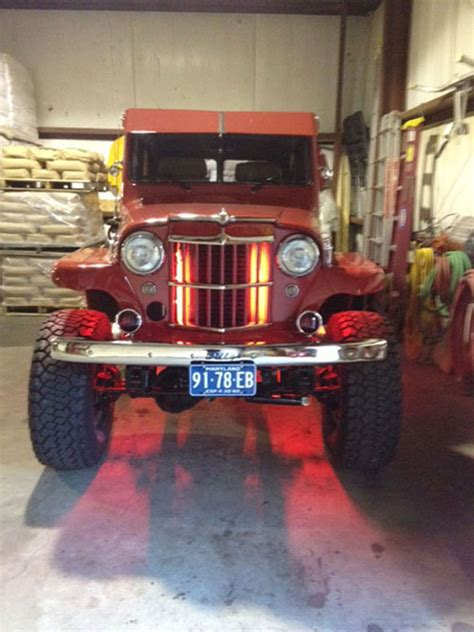 Bumper Belakang Willys 1 my willys station wagon build