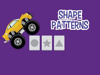 pattern games abcya shape patterns abcya