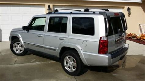 how do cars engines work 2007 jeep commander head up display purchase used 2007 jeep commander limited 4 door 4 7l flex engine great condition in palm harbor