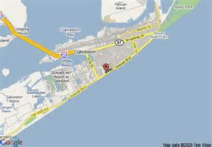 galveston on map map of galveston island resort galveston