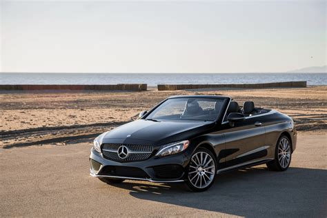 convertible mercedes black black convertible mercedes c 300 4matic 2017