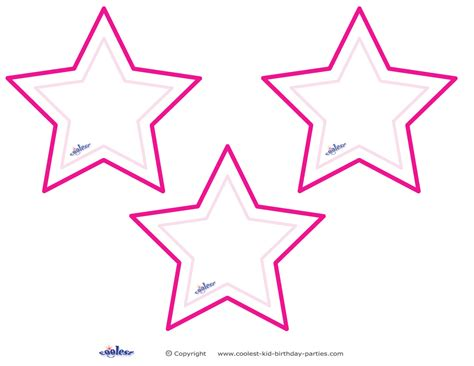 printable stars blank printable pointy stars coolest free printables picture
