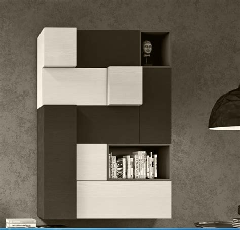 soggiorno londra parete soggiorno in essenza grigio londra e frassino