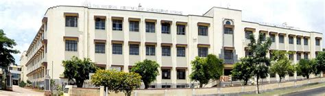 Vtu Mba College In Mysore by National Institute Of Engineering Nie Mysore Karnataka