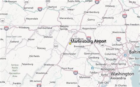 map of martinsburg wv martinsburg airport weather station record historical