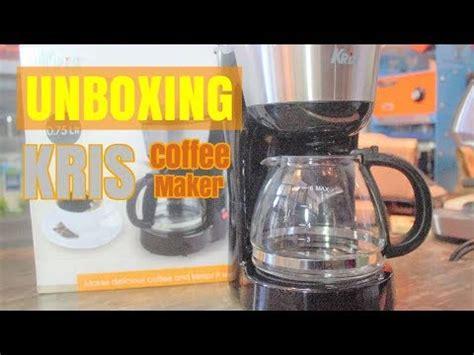 Alat Coffee Maker kris coffee maker alat kopi murah meriah unboxing