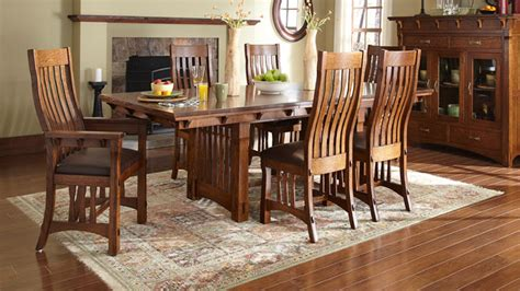 Wooden Benches And Tables Amish Furniture Dining Room Amish Dining Room Furniture
